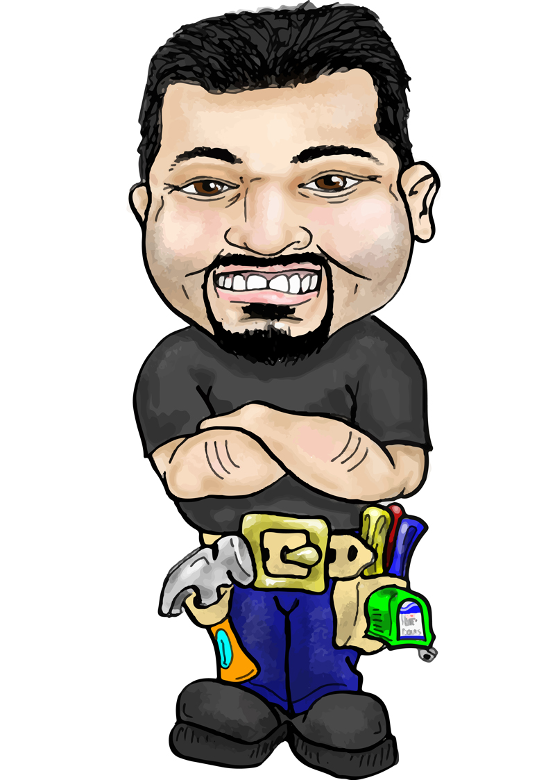 Caricature - Jesse